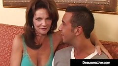 Cock Craving Cougar Deauxma Squirts Doing Anal!'s Thumb