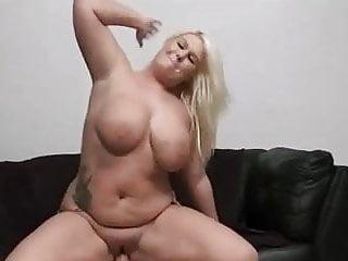 hot blonde fucked on sofa
