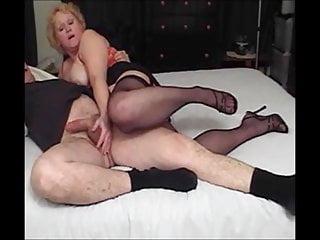 Movies mature seduction - Nasty auntie fannys seductive footjob