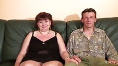 French Granny Anal and DP