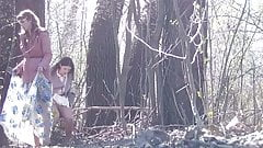 Peeing Outdoors Hidden Camera 1