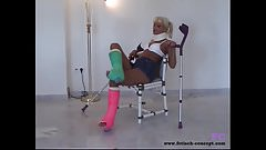 Fetisch-Concept.com presents: Gips Teenys Private Posing