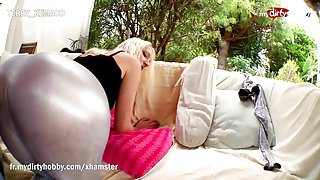 My Dirty Hobby - Hot blonde gets penetrated hard!