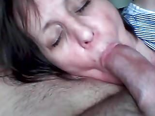 She cums while sucking my cock!