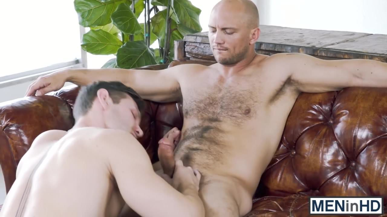 Horny studs Jacob Peterson and John Magnum getting it on