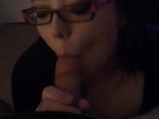 Ex girlfriend sucking my dick again