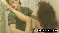 Kari Foxx - Retro Pornstar Bathroom Sex