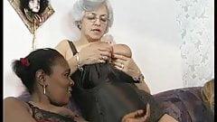 Interracial mature group orgy