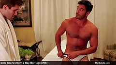 actor Jared Allman naked and sexy movie scenes