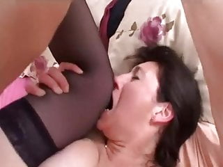 Young Stallion Satisfies Cougar's Delicious Pussy