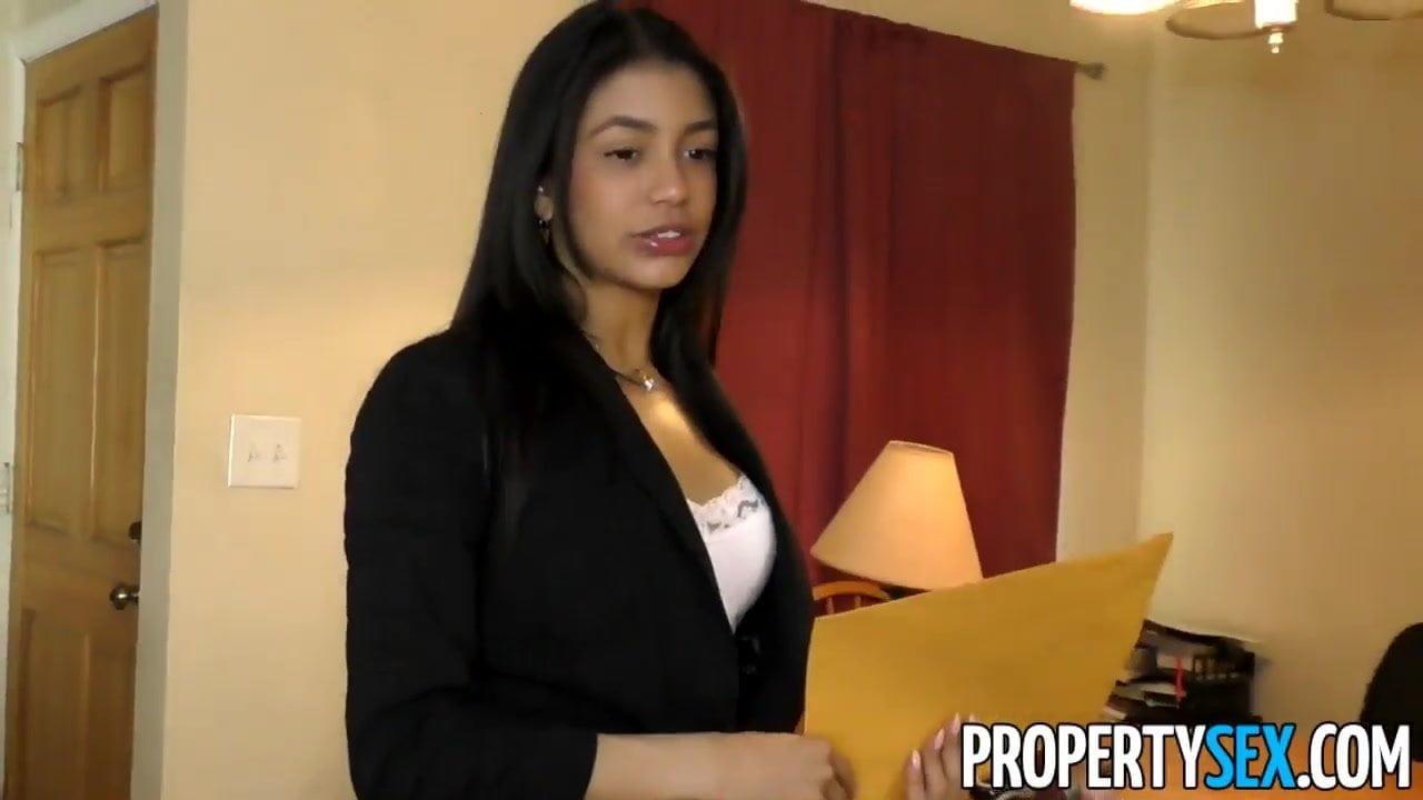 Big Boob Real Estate Agent