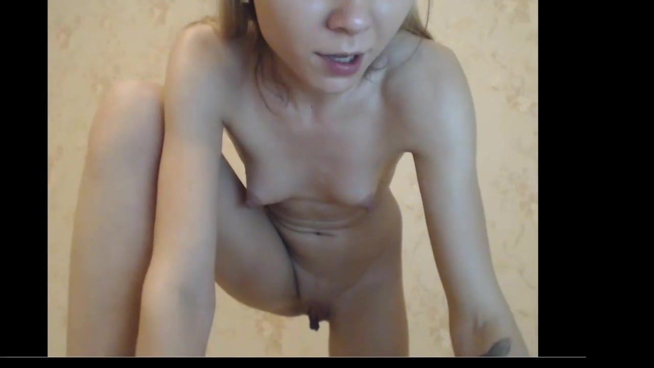 Skinny Teen With Tiny Tits Has Shaking Orgasm Then Squirts -1797