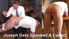 Spanked & Caned Featuring Joseph Brandon