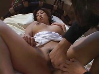 Busty Japanese porn star 3 of 9