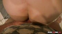 POV blowjob and doggy style banging a hottie