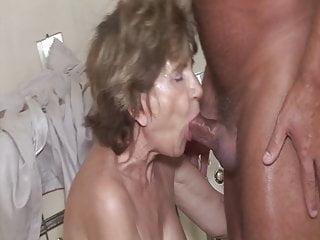 Craftsman fucks grandmas old ass