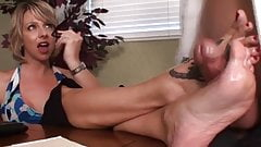 Messy oral sex