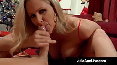 Amazing American Milf Julia Ann Gets Banged By Santa Claus!