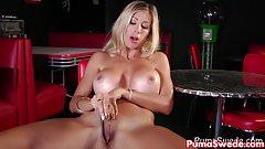 Euro Slut Puma Swede Fucks Big Dildo!