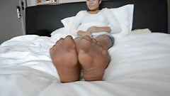 Feet nylons
