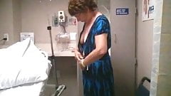 Wife at the hospital