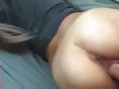 Asian whore fucked by white cock