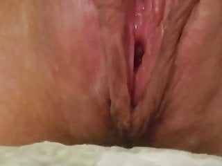 sexy solo closeup clit rub orgasm contractions intense