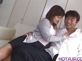 Yuka Matsushita busty is fucked in nasty cunt