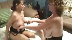 First lesbo experience of my mature wife Home made