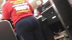 Big BBW PAWG Booty Cashier