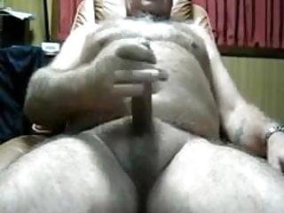 Horny hairy grandpa