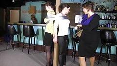 2 women in bar