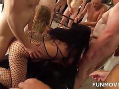 Young and Mature Homemade Groupsex
