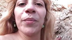 Amateur french mature hard banged outdoor
