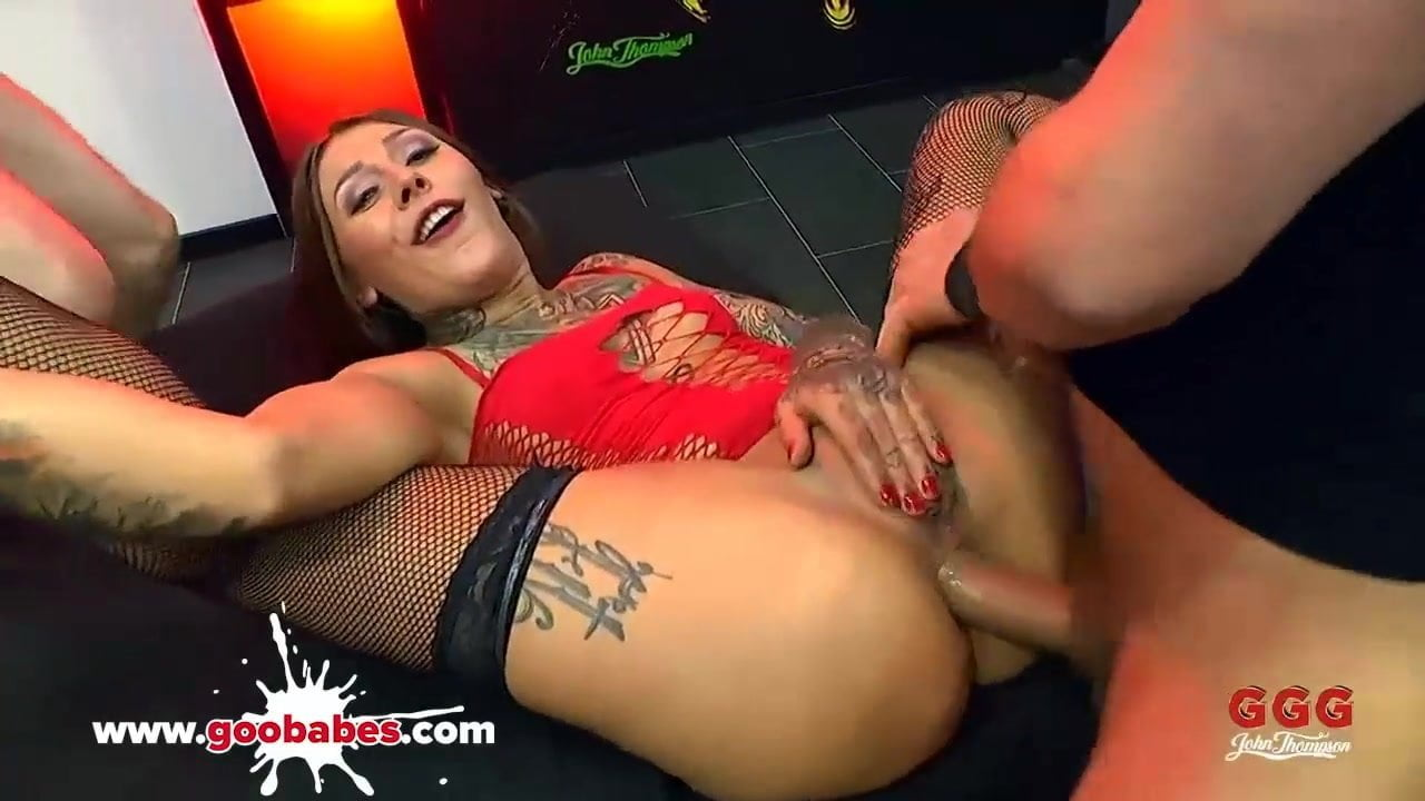 German Wife Blonde Anal