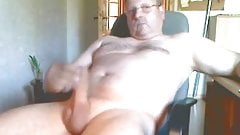 Fat cock dad cumming