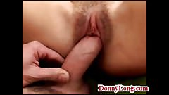 Donny Long gives HUGE messy creampie to cheating wife milf