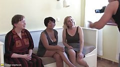 Grannies and mature moms fuck fresh meat