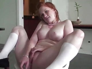 REAL REDHEAD LUCY PALE SKIN PINK TITS 19