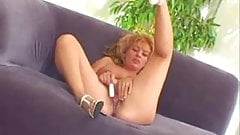 Blonde Slut Masturbates by snahbrandy