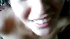 samia french amateur facial