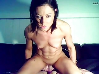 Fit Lady Rides Cock