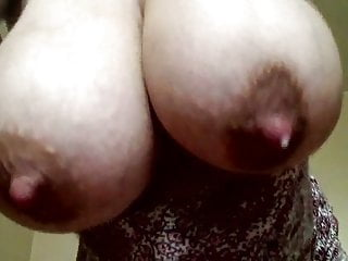 MILKY TITS FROM BELOW