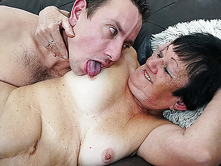 82 years old grandma first toyboy sex
