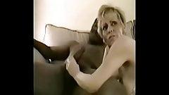 Horney long nippled BBC mature slut