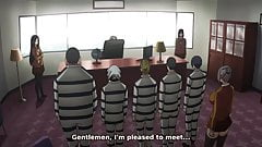Prison School (Kangoku Gakuen) anime uncensored #8 (2015)