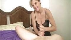 Blonde Milf Cum-Splattered