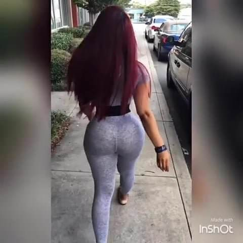 Big round ass nurse