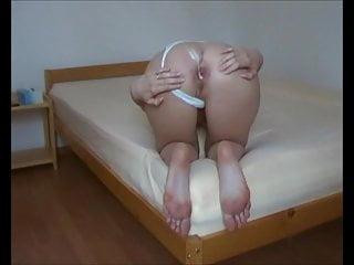 Ass fuck- GF her long soles, juicy ass