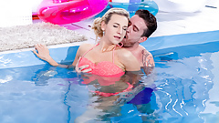 LETSDOEIT - Underwater Fucking With Sensual Czech Babe's Thumb